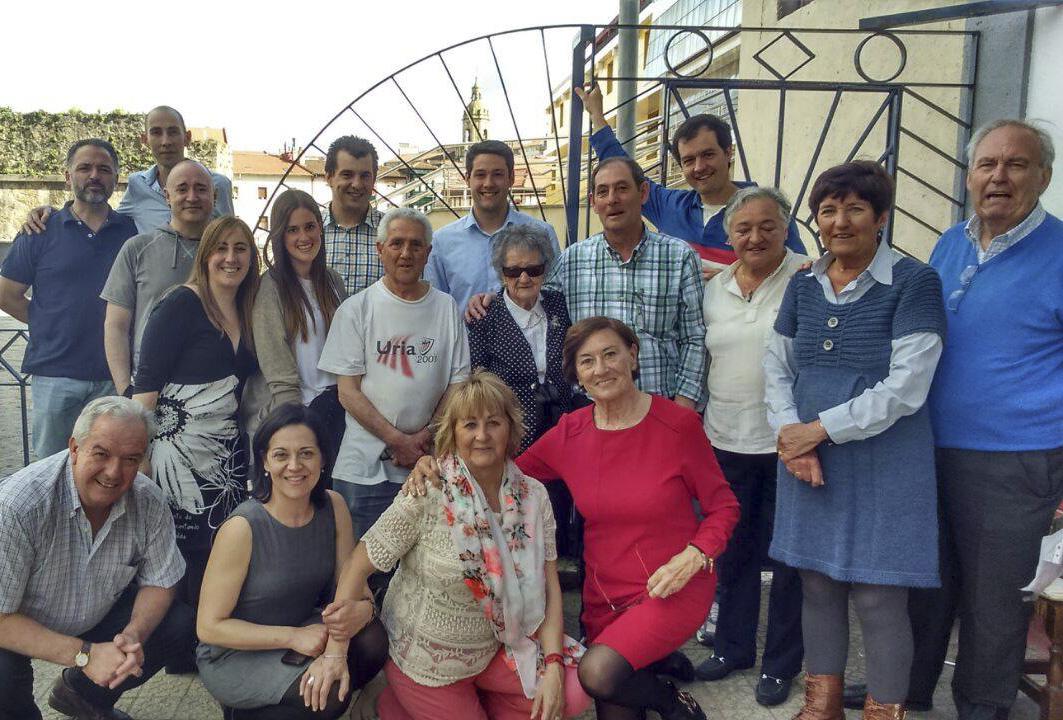 Antonia Mazo: «Para llegar a los 100 años recomiendo comer poco y caminar mucho»