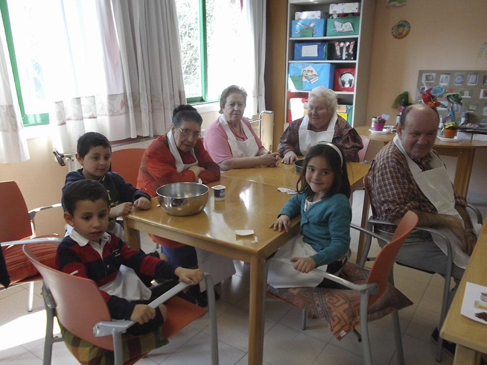 Actividades intergeneracionales en la Residencia Pública de 'Egogain'