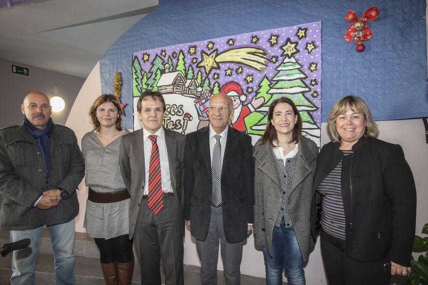 La Residencia y Centro de Día «Concordia» de Gavà recibe la visita de la alcaldesa de este municipio