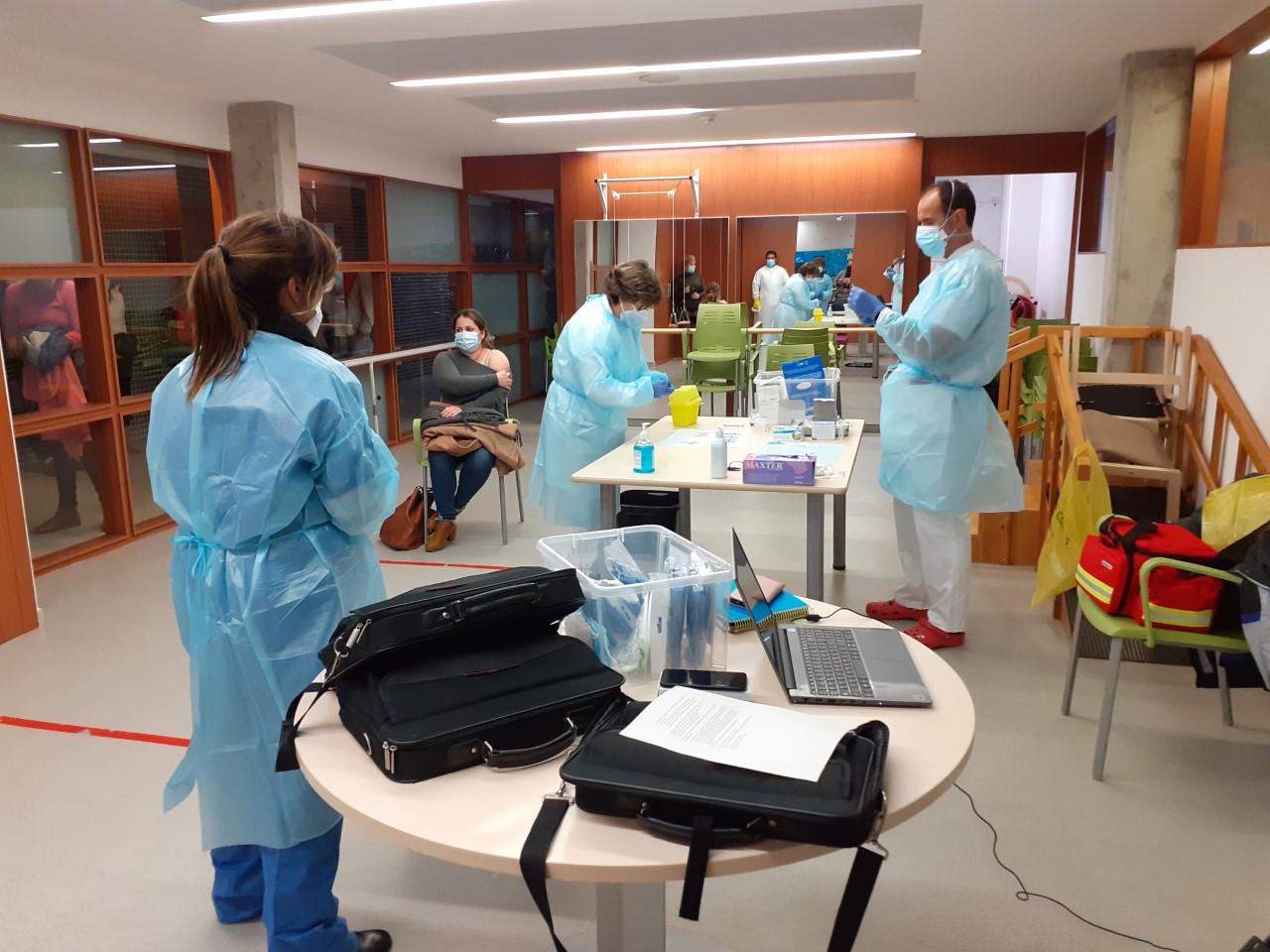 FSC inicia el proceso de vacunación contra el COVID-19 en la Residencia y Centro de Día «Roger de Llúria» de Reus