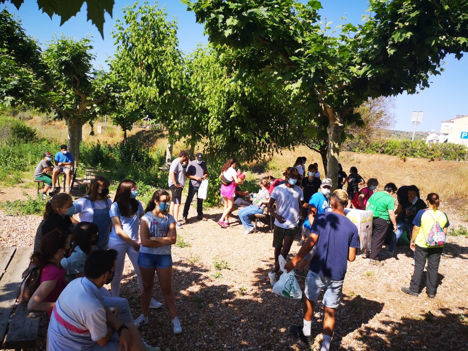 Gran acogida de la iniciativa de educación ambiental «LIBERA, unidos contra la basuraleza» en el CAM Ateca gestionado por Lagunduz
